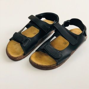 Birkenstock Men's black sandal size 44 US 11